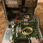 Powermac G3 original inside view